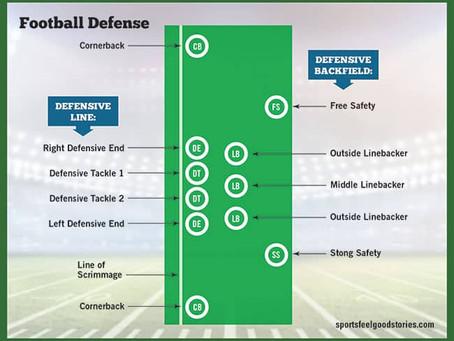 Principais Posições do Futebol Americano (Defesa)