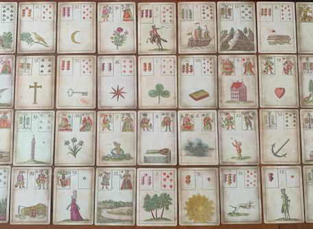 The French Prophetess Behind the The Lenormand Deck | Cousins of Tarot Part 1