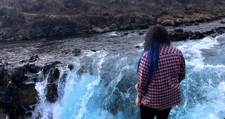 Looking for Icelandic Elves on Stokksnes Beach