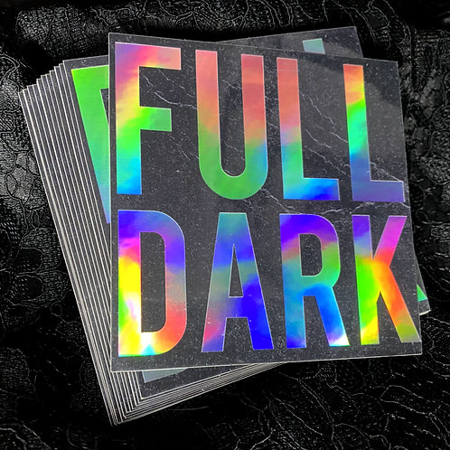 Full Dark Sticker