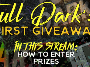 Full Dark's First Giveaway!