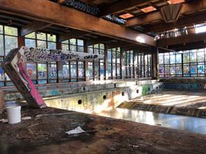 Abandoned Borscht Belt Series: Grossinger's Catskill Resort Hotel
