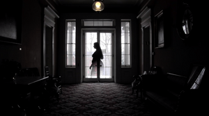 """Jen, a """"ghost"""" we created in post-production for our film project Ten Broeck Mansion."""