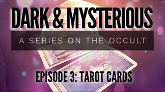 Dark & Mysterious 3: Tarot Cards