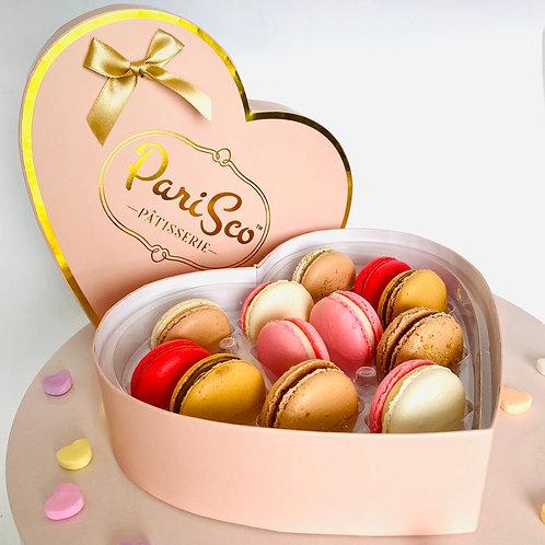 Heart macaron Gift box