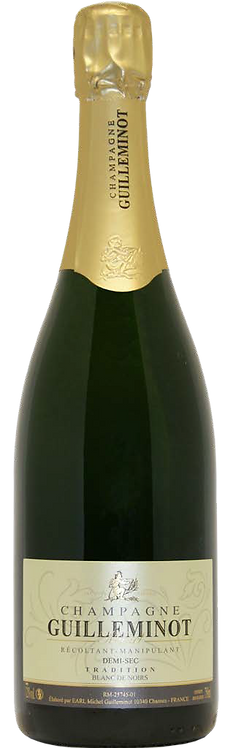 Champagne Guillemot Tradition Demi-Sec(semi-sweet)