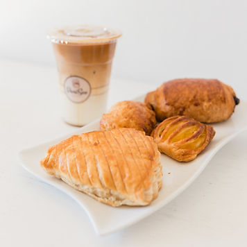 Apple Turnover, Mango Danishes, Chocolate danishe, Caramel Macchiato, Patisserie PariSco, Bakery, Guam, french