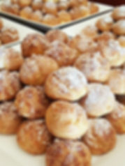 Baby creampuff, choux a la creme, Patisserie PariSco, Guam, bakery, French