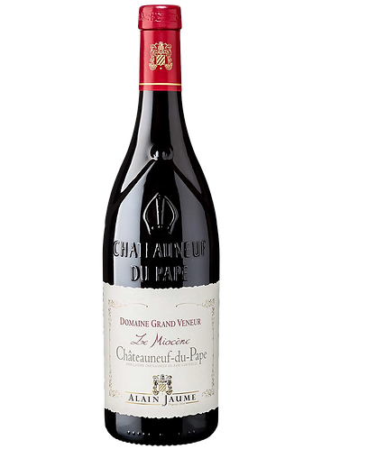 """Côtes du Rhône   Châteauneuf‐du‐Pape Domaine Grand Veneur """"Le Miocène"""""""