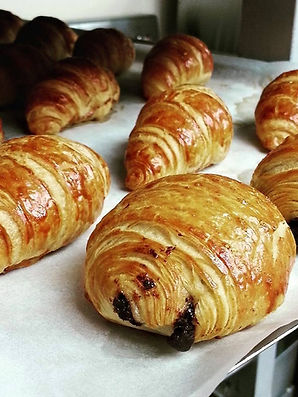 croissant, Danishes, Pain aux Chocolats, Chocolates Danishes, Patisserie PariSco, French Bakery, Guam