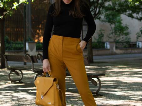 Outfit: Hořčicová | Mustard Yellow
