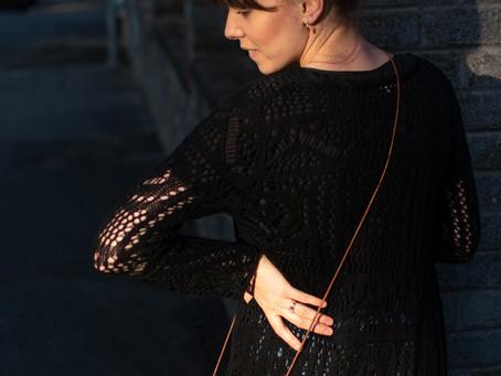 Outfit: Háčkovaný kardigan | Crocheted Cardigan