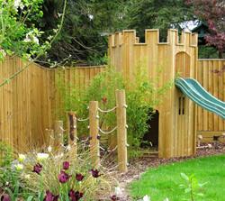 family garden, Marlow