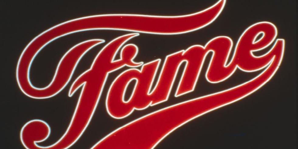 Fame the Musical Thursday 2nd April