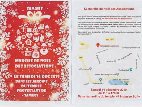 Marché de Noël à Sanary