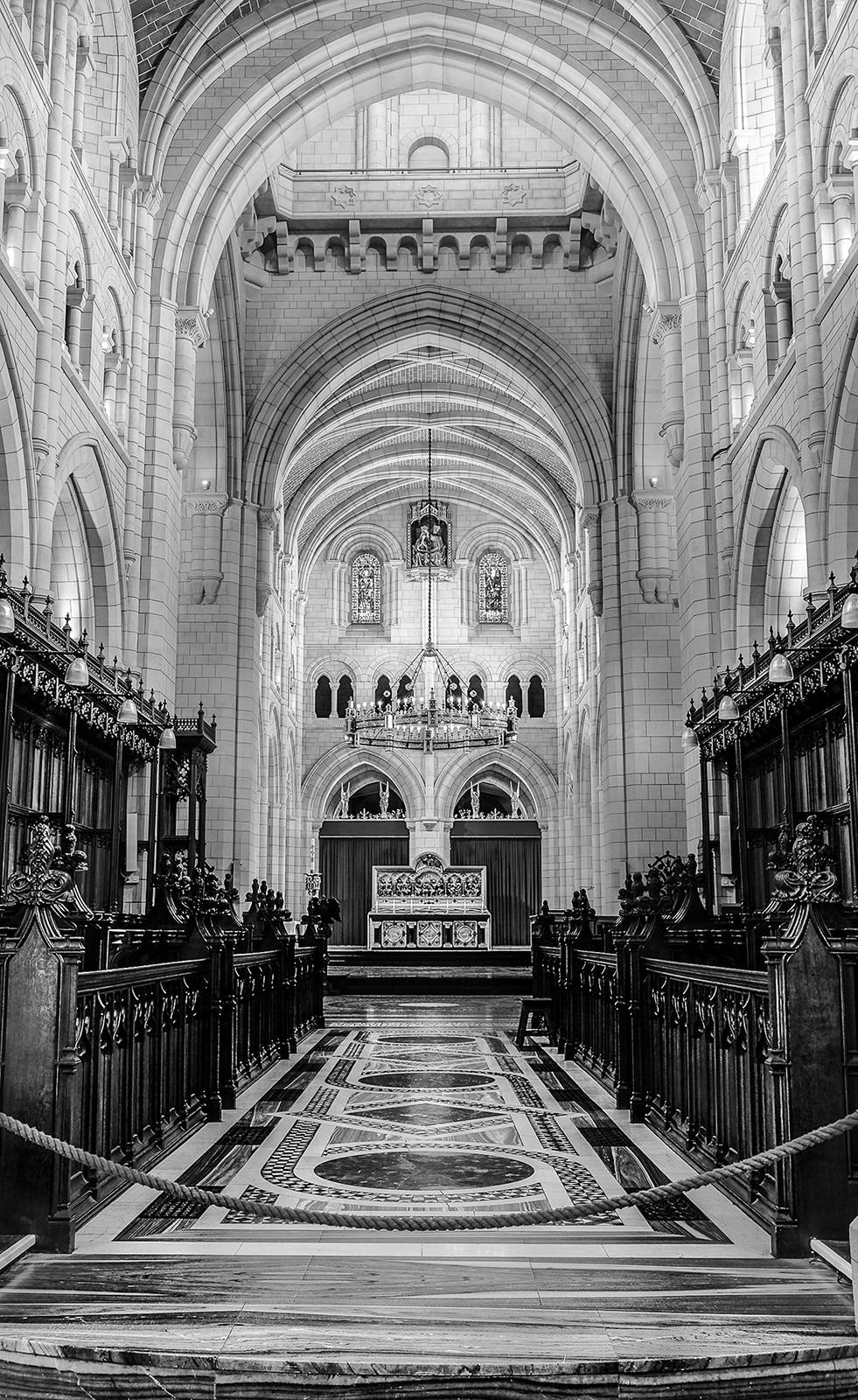 MONO - Buckfast Abbey by Josie Devlin (12 marks)