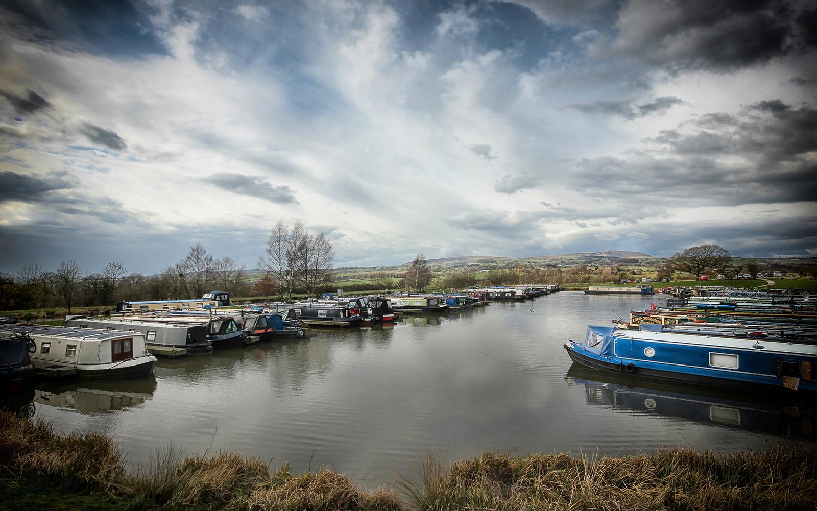 PDI - Burnley Canal by Josie Devlin (8 marks)