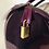 Thumbnail: Bolsa Furla roxa