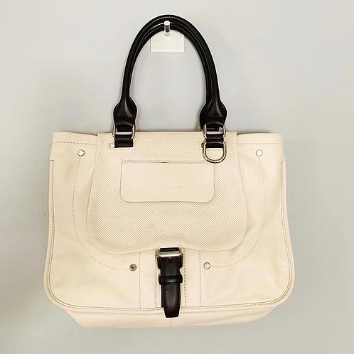 Bolsa Longchamp Off White