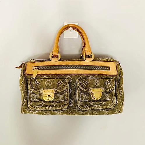 Bolsa Louis Vuitton demin verde