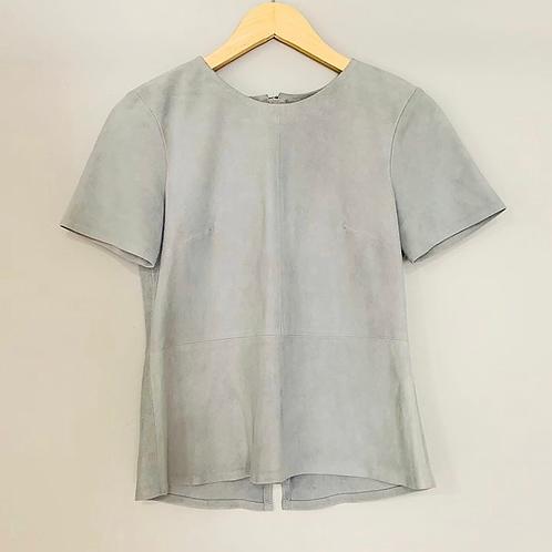 Camiseta Minimale azul camurça tam. P