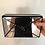 Thumbnail: Bolsa Vince Camuto Preta e Prata Espelhada