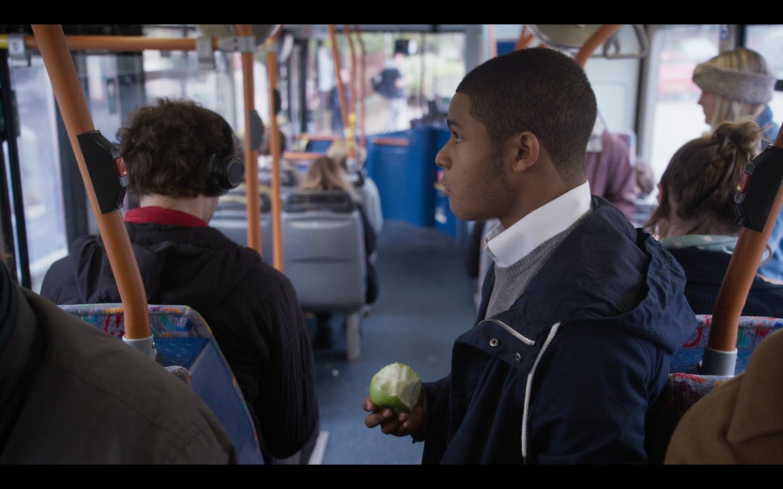 Jamie and bus