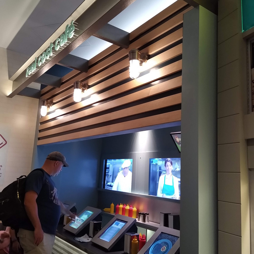 Sea Shark Cafe interactive (video chefs discourage you from ordering shark)