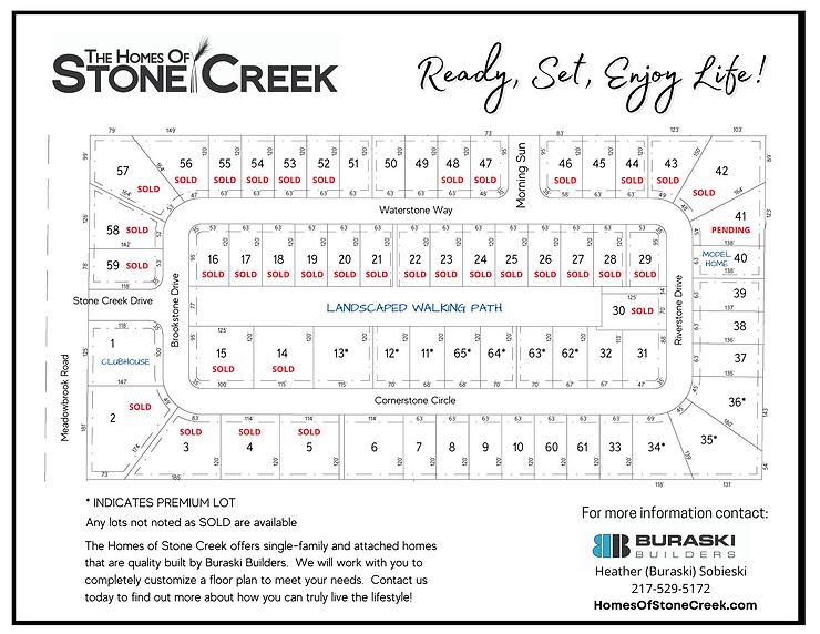Stone Creek Plat Plan