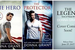"""🎄🎄 GIVEAWAY REVIEW 🎄🎄 Blog Tour Donna Grant's """"The Hero"""""""
