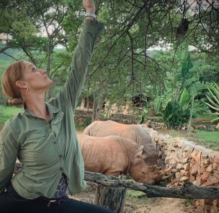 Pia och Noshörningarna