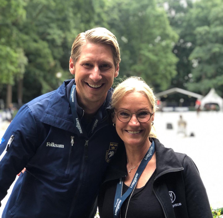 Patrik Kittel och Pia Wallberg