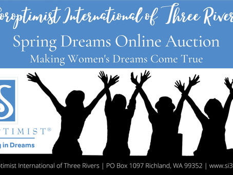 Happening Now! Spring Dreams Online Auction