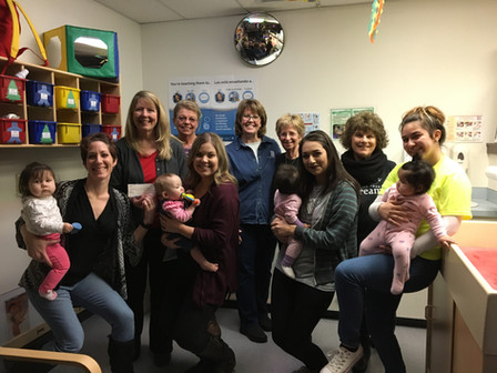 In partnership with SIPK, we donated $1000 to Tri-Tech Daycare to help offset the many costs of childcare for these young moms!
