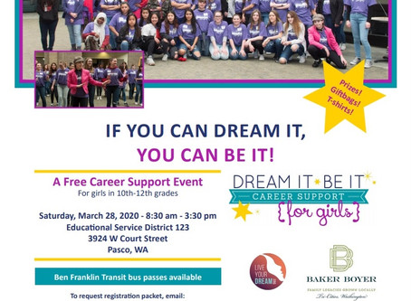 Postponed - Dream It Be It Free Career Support Event