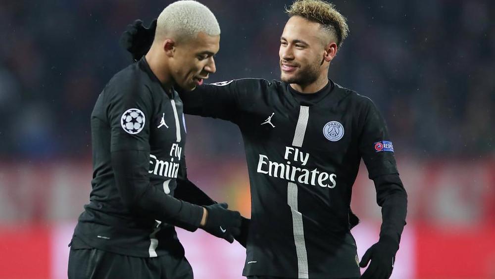 Mbappé Neyar Ligue des Champions 2018 2019 psg