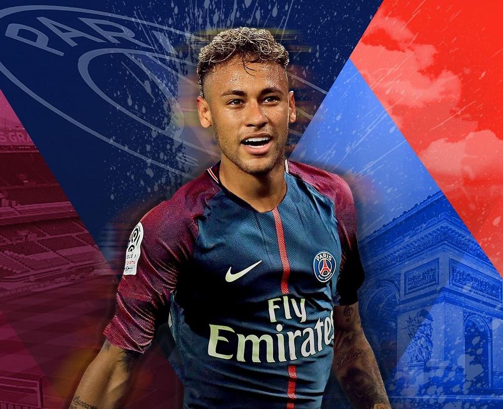 Neymar PSG brazil brésil Mbappé Paris Paris Saint Germains