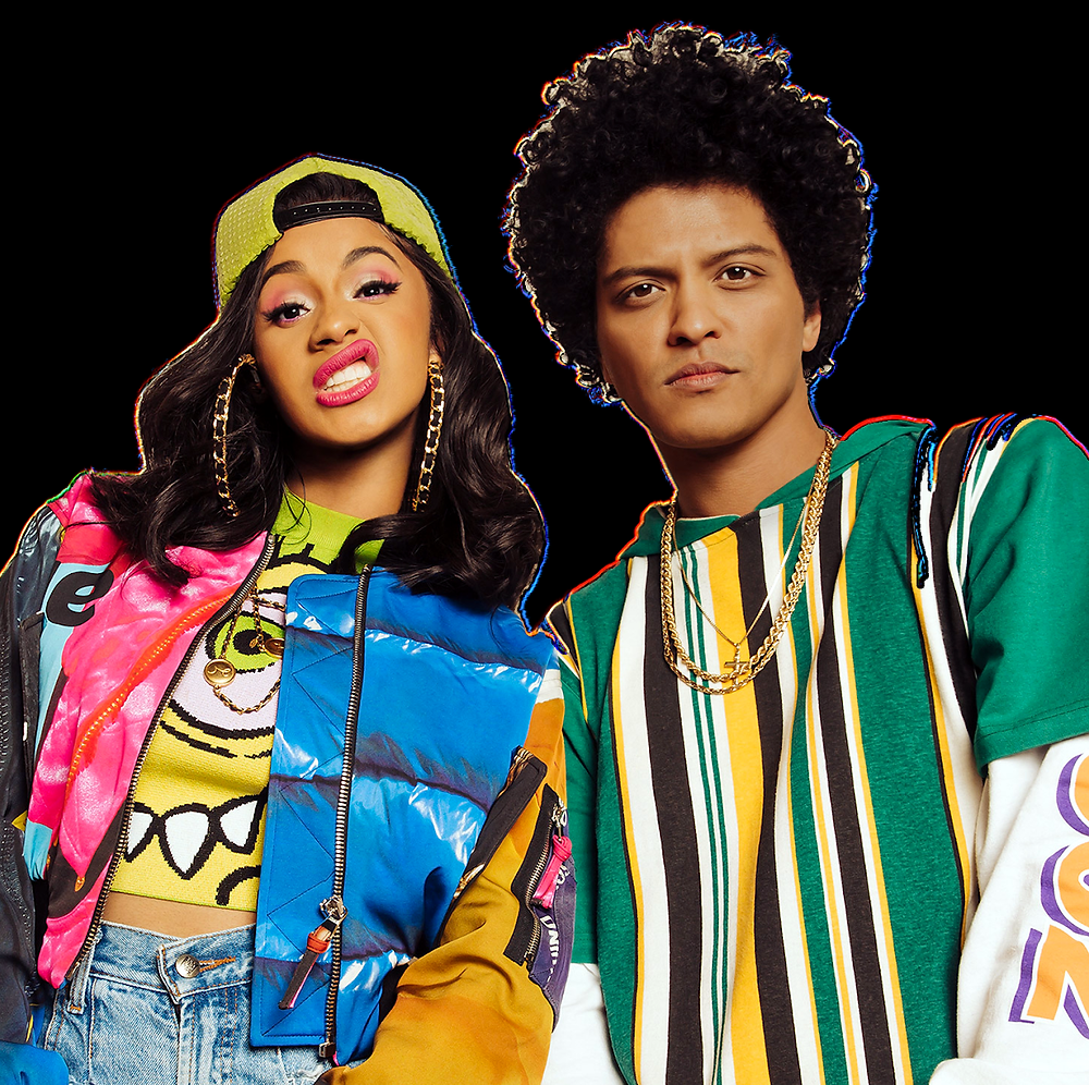 Bruno mars cardi b finesse grammy awards single