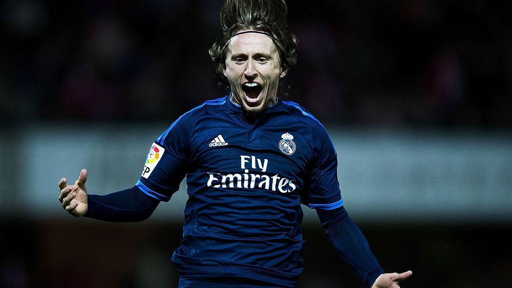 Luka Modric Réal Madrid Champions League Ballon d'or