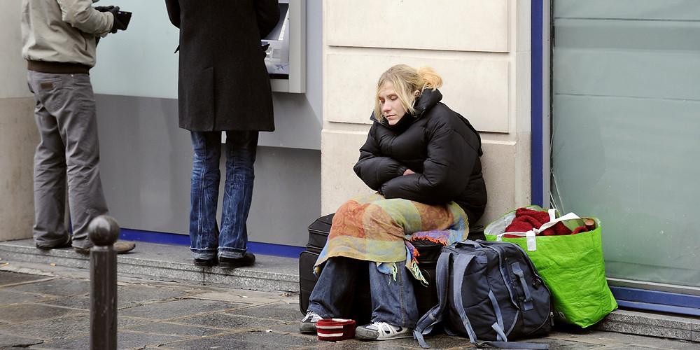 sdf france sans domicile homeless