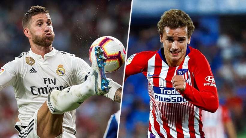 Ramos VS Griezmann
