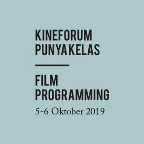 kineforum Punya Kelas | Film Programming