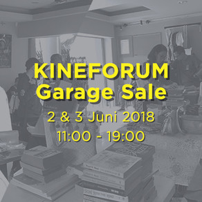 KINEFORUM Garage Sale 2