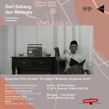 """Kompilasi Film Pendek """"Perspektif Berbeda mengenai Aceh"""""""