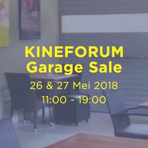 KINEFORUM Garage Sale