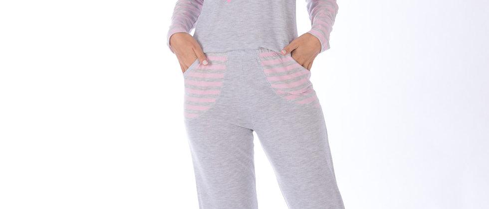 Pijama Mescla Victory