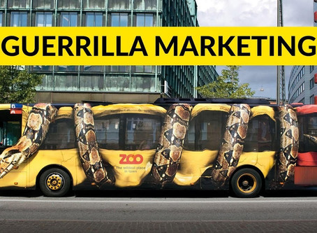 Guerrilla Marketing: il marketing aggressivo!