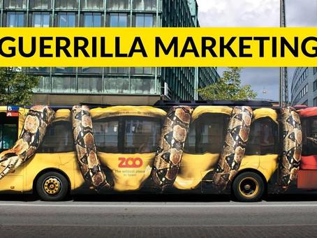 Guerrilla Marketing: il marketing aggressivo!