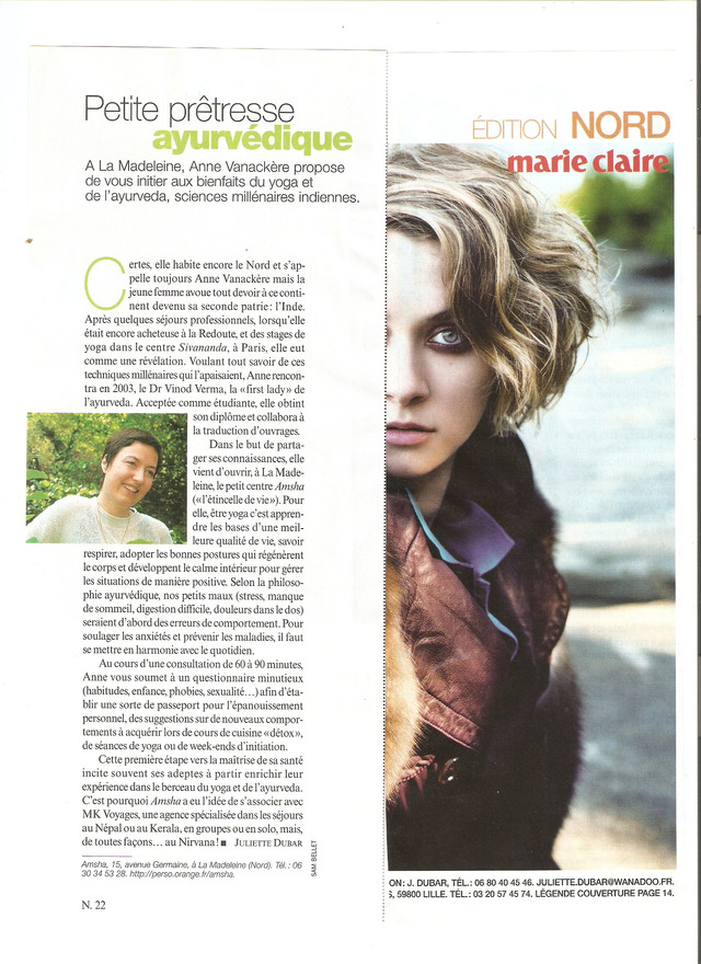 MARIE CLAIRE 2009