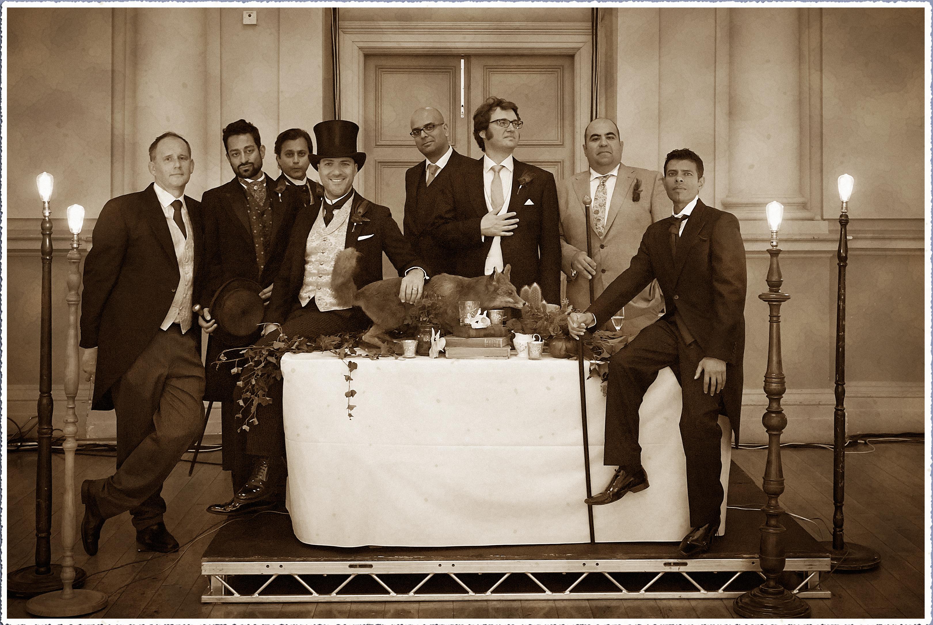 Victoriana Wedding Reception